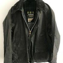 Mens Barbour Bedale Wax Jacket Dark Blue Coat 40 in Size Medium / Large M/l 7 Photo