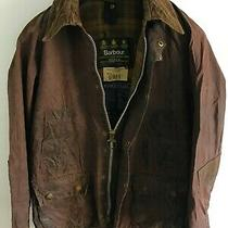 Mens Barbour Bedale Wax Jacket Dark Brown Coat 36 N Size Xs/s Small /extra Small Photo