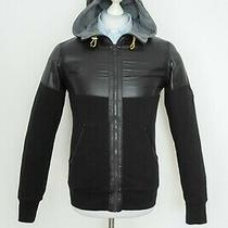 Mens Barbour International Sweatshirt Sweater Jumper Zip Hoodie Size S Photo