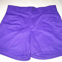 Mens Bike Purple Baseball Softball Coaches Shorts  L Large (Waist 34-38) New Photo