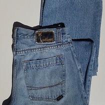 Mens Billabong Straight Leg Denim Blue Jeans (Size 32x32) Photo