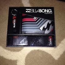 Mens Billabong Wallet Belt and Bottle Opener Gift Set Brand New in Box Photo