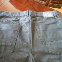 Mens Black Express Kingston Classic Fit Straight Leg Jeans Size 36 X 32 Photo