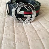 Mens Black Gucci Belt Photo