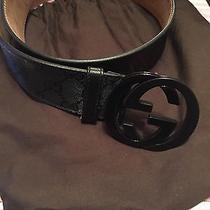Mens Black Gucci Belt  Photo