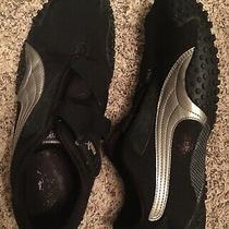 Mens Black Puma Athletic Shoes Size 12 Photo