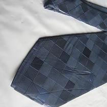 Mens Blue Silk Tie Necktie Modern Elements (2996) Free Us Ship Photo