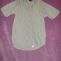 Mens/boys Button Up Shirt Greens Size Small by Modern Elements  Photo
