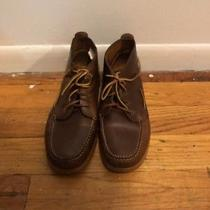Mens Brooks Brothers Brown Shoe Boot Lace Up Size 11.5 Photo