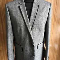 Mens Burton Sports Jacket/blazer Large Grey Tweed Mix Superb Photo