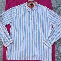 Mens Button Down Long Sleeve Express Modern Fit Xl Shirt Photo