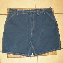 Mens Carhartt B28 Denim Blue Jean 8.5