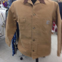 Mens Carhartt Blanket Lined Barn Chore Jacket Size Large (44) Photo