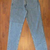 Mens Carhartt Relaxed Fit Heavy Duty Blue Jeans Size 34x34 Excellent  Photo