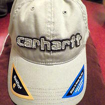 Mens Carhartt Workflex Ball Cap/hat Cool Max Tan/brown in Size Med/large Photo