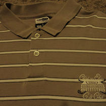 Mens Chateau Elan Golf Club Polo Shirt Large  Photo