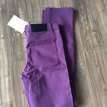 Mens Cheap Monday.... Purple Jeans ...new 34x34  Urban Outfitters  Photo