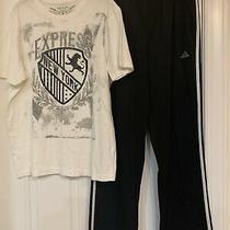 Mens Clothes Top Express  Adidas Pants M Lot Photo