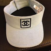 Mens Coco Chanel Visor/hat Size M ( Adjustable ) Photo