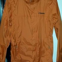 Mens Columbia Jacket Orange Small Photo