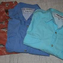 Mens Columbia Pfg  Vented S/s Fishing Shirts (2) 2xl Plus Magellan Fish Shirt Xl Photo