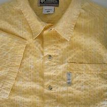 Mens Columbia River Lodge Short Sleeve Hawaiian Shirt Sz M Photo