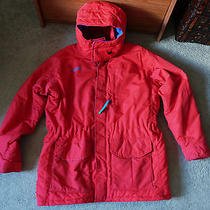 Mens Columbia  Snow/winter Parka Sz. L. W/ Hood & Radial Sleeves Photo