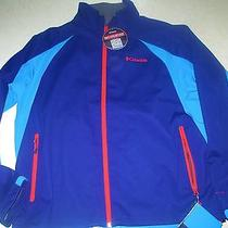 Mens Columbia Tectonic Softshell Jacket Navy Xl Omni Heat Sheild Nwt 130 Photo