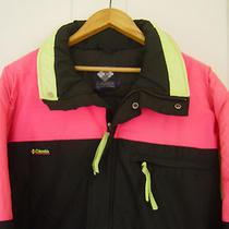 Mens  Columbia Zip Up  Radial Sleeve Ski  Jacket Water Resistant Sz L  Photo