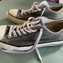 Mens Converse All Star Gray Sneakers Running Shoes Size 10 Photo