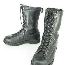 Mens Danner Black Leather Insulated Military Tactical Swat Hunting Work Boots 9 Photo