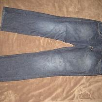 Mens Dark Blue Jeans 38