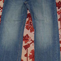 Mens Denim Jeans Gap Loose Fit Size 36 X 32 (Measures 36 X 31