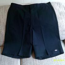 Mens Dickies Navy Work Dress Shorts Size 40 Photo