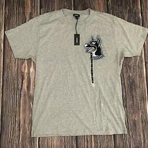 Mens Diesel Gray Short Sleeve T Shirt Graphic Tee Size Medium New Nwt Photo