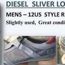 Mens Diesel Sliver Low Top Athletic Shoe Photo