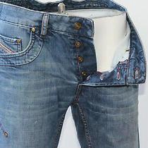 Mens Diesel W30 L32 Loose Straight Leg Jeans 30r Distressed Rumbum Photo