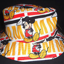 Mens Disney Collection by Neff Mickey Mouse Bucket Hat One Size  Photo