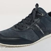 Mens  Dolce & Gabbana Navy Blue Fashion Sneakers Sz. 8 Photo