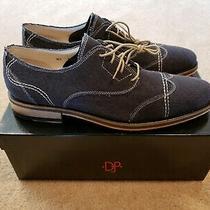 Mens Donald J Pliner Shoe 10.5 Black Distressed Linen Photo