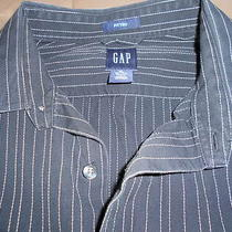 Mens Dress Shirt by Gap Xl Tall Fitted Photo