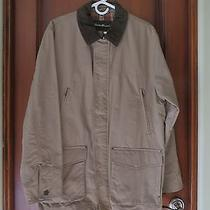 Mens Eddie Bauer Barn Style Jacket Tan Nwt Sz Med. Photo