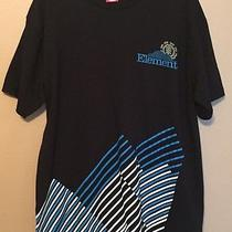 Mens Element Black Blue & White Shirt Size Large Photo