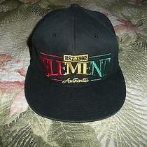 Mens Element Crowns Baseball Cap Hat Black 210 Fitted Jamaica Dhaka Usain Bolt Photo