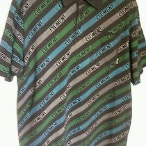 Mens Element Graphic Polo Shirt Black Xlarge Photo