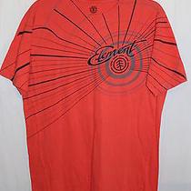 Mens Element Tshirt Organic Product Orange Free Ship Size Medium Combed Cotton Photo