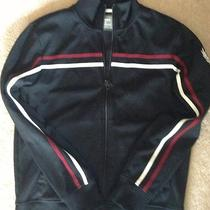 Mens Express Black Track Jacket Med X 21.5 Chest  Photo