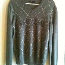 Mens Express Design Studio Gray Lightweight Sweater Size Small Nwot Photo
