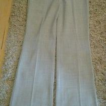 Mens Express Editor Dress Pants Gray Size 6l Photo