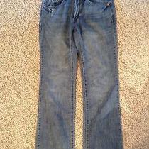 Mens Express Jeans 30x30 Blue Denim Distress Photo